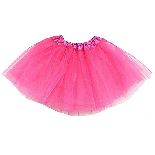 Adult Women Ballet Tutu Layered Organza Lace Mini Skirt