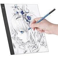 Light Pad, LED A3 Panel de luz Tablero digital de copiado de tableta digital para trazado Copia de dibujo