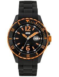 KA:OZ A62109-2SS5I - Reloj para hombres, correa de silicona color negro