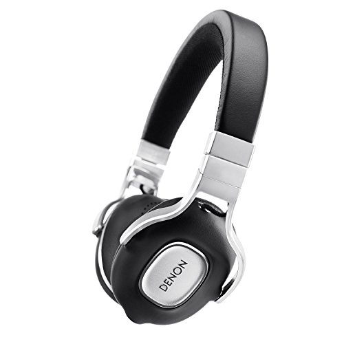 Denon AH-MM300 On Ear-Kopfhörer (40 mm Free Edge-Treiber, Aluminium-Kopfbügel) schwarz