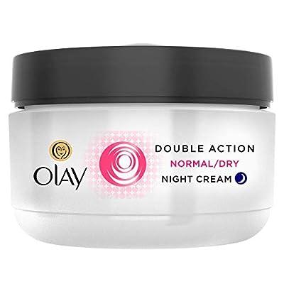 Olay Double Action Moisturiser Night Cream, 50 ml