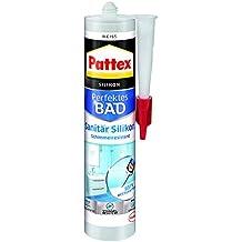 Pattex PFDBW Dusche und Bad Silikon, weiß