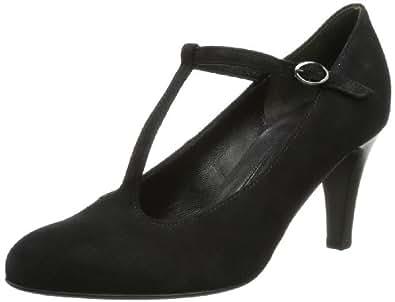 Gabor Shoes Gabor 85.213.17 Damen Pumps, Schwarz (schwarz (LFS rot)), EU 44 (UK 9.5) (US 12)