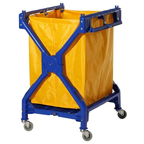 Servierwagen, Hochleistungs-Faltbare ABS-Serviereinigungs-Laufkatze, rollende Sammeln der Wagen für Hotelbüro