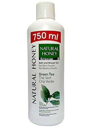 NATURAL HONEY - Gel douche & Bain - Thé vert - 750ml