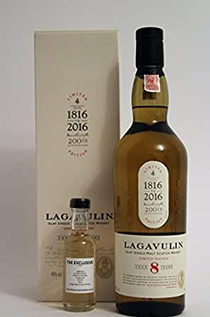 Lagavulin - 8 Year Old - Limited Edition - 200th Anniversary - 48.0% - *50ml Sample*