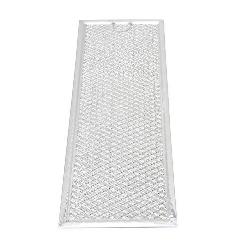Abzugshaube Mikrowelle (Aktivkohlefilter Filter passend für diverse Dunstabzugshaube Abzugshaube Mikrowelle Haube aus dem Hause Filter Fettfilter Aluminium Ersatz für Filter (32.5x12x0.2 cm / 12.8x4.72x0.08 Zoll (LxBxH)))