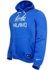 2016-2017 Inter Milan Nike Core Hooded Top (Black)