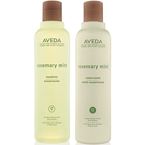 Trockenes Haar Mint Shampoo (Aveda Rosmarin mint duo- Shampoo 250 ml & CONDITIONER 250 ml)