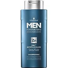 Schwarzkopf Shampooing Zinc Antipelliculaire pour Homme 250 ml - Lot de 3