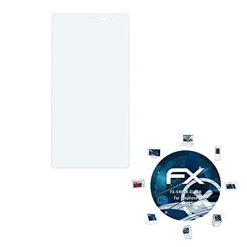 atFolix Schutzfolie kompatibel mit Elephone Trunk Panzerfolie, ultraklare & stoßdämpfende FX Folie (3X)
