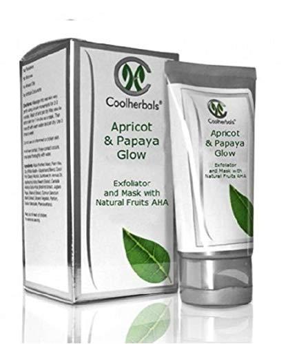 Coolherbals Apricot & Papaya Glow 50g - natural skin care