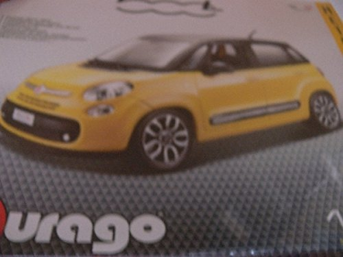 Bburago B18-63.792,1cm FIAT 500L Model Kit, Maßstab 1: 24 (1 24 Scale Model Kits)