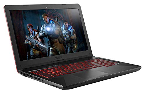 Asus TUF504GE-DM563T PC Portable Gamer 15,6' Noir (Intel Core i5, 8Go de RAM + 16Go de RAM optane, 1 to, Nvidia GTX1050 TI 4 Go, Windows 10) Clavier AZERTY Français