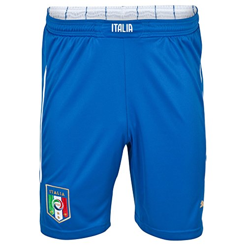 Puma-Childrens-Tracksuit-Bottoms-with-Italian-Football-Federation-Home-Replica-Football-Shorts