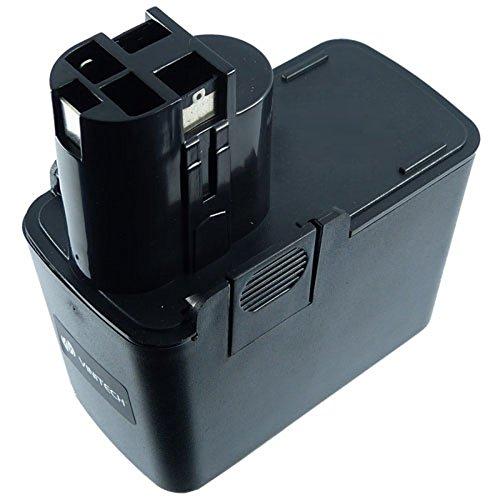 Preisvergleich Produktbild Vinitech Akku für Bosch Passend Geräte GBM / PBM / GSR / PSR / PSB / GSB / GDR / PDR mit 12 Volt Flachakku (2.Generation) 12V 3300mAh NiMh