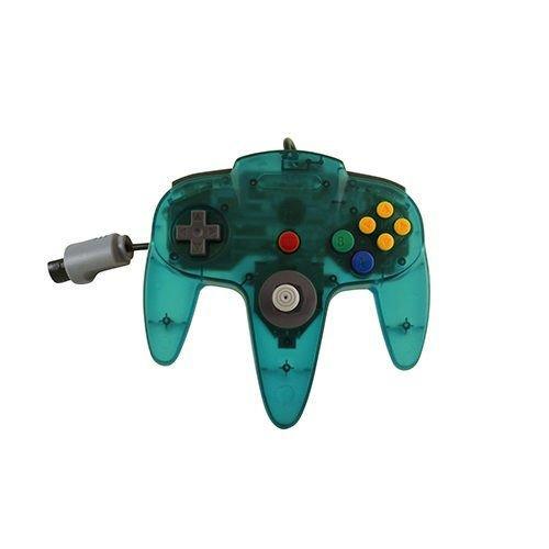 Controller für Nintendo 64, transparent/blau (Nintendo 64-controller Blau)