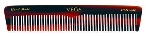 Vega hecho mano Graduated Dressing Peine. Half coarse