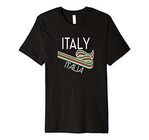 Italien T Shirt Retro Italienischer Stil Souvenir Kleidung
