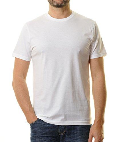 RAGMAN Herren RAGMAN T-Shirt rundhals Singlepack Weiss-006