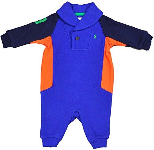 Ralph Lauren Baby Jungen (0-24 Monate) Sweatjacke blau blau 62