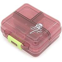 Preisvergleich für Tragbar Reise Pille Box Case Organizer, Weekly 7Tage Kunststoff Medizin Vitamin Halter Container 7fach