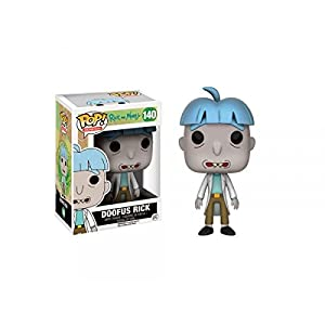 Funko Pop Doofus Rick (Rick & Morty 140) Funko Pop Rick & Morty