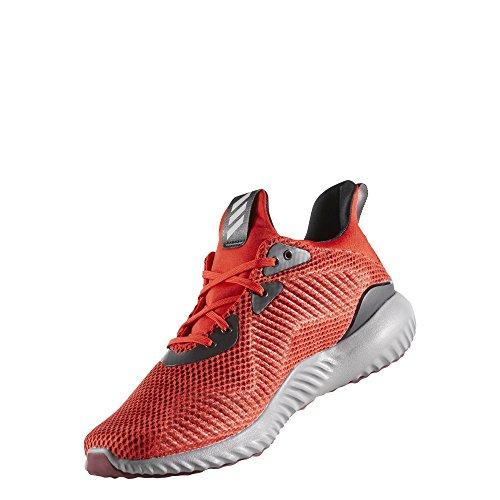 adidas Herren Alphabounce 1 Laufschuhe Rot (Core Red/Collegiate Burgundy/Utility Black)