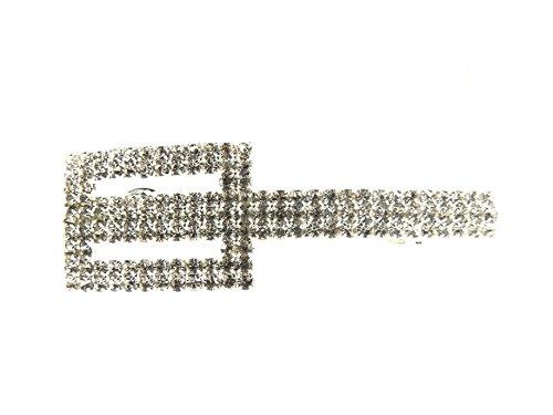 Glamour Girlz-Set da matrimonio con cristalli incastonati, a 9 cm Hair (Art Deco Di Cristallo)