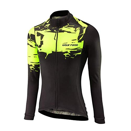 Uglyfrog Radtrikot 2019 Frühling Damen Mode Fahrradbekleidung Langarm Gemütlich Atmungsaktiv Anzug Radfahren Frauen Trikot Set