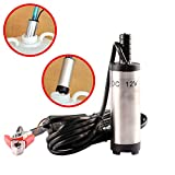 Pumps - 2019 Dc 12v 38mm Mini Electric Oil Diesel Fuel Water Pump Car Camping Fishing - Hydraulic Small Double Gear Single Transfer Jack Pump Diesel Pressure Electric Essential Pure Extractor Mi