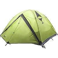 2-4 Personen Klettern Windproof Rainproof BelüFtung Und Atmungsaktiv GroßE Raum Doppel Aluminium Pole Zelt Outdoor Camping Zelt Wurfzelte Zelte