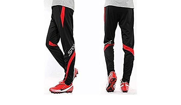 41188ead031e0 Red, 3XL : 2016 New Professional Soccer Training Pants: Amazon.in:  Electronics