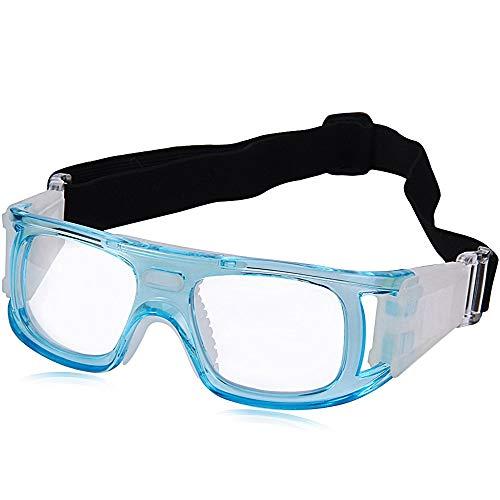 Shuxinmd Kühle Outdoor-Brille Outdoor Sports Protective Eyewear Schutzbrillen Anti Impact PC Lens UV-Schutz (Color : Blau)