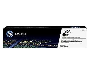 HP 126A (CE310A) Schwarz Original Toner für HP Color Laserjet Pro CP1025, M175, TopShot Laserjet Pro M275
