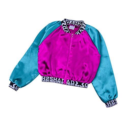 (Yiliankeji Hip-Hop Tanz Kleidung Erwachsene Person Mädchen Straße Tanz Kostüme Spleißen Jazz Bühne Aufführung Show Sport Im Freien Bühne Performance Dancewear)