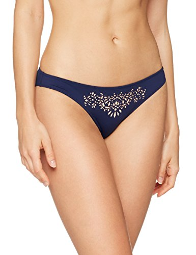 Skiny Damen Bikinihose Zanzibar Rio Slip, Mehrfarbig (Blue Scuro 1509), 38 (Rio Blue Tops)