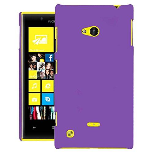 ZOUK Hard Back cover For Nokia Lumia 720 - Purple