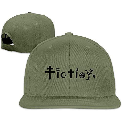 NathalieLancaster Custom Unisex Adjustable Sports Fiction Atheist Design Snapback Flat Hip-hop Hat One Size