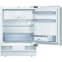 Bosch KUL15A65 série 6 Réfrigérateur congélateur encastrable sous plan de travail - Efficacité énergétique A++ - Capacité de refroidissement:108l - Compartiment de congélation:15l - Blanc - Dégivrage automatique - Éclairage ComfortLight - Montage fixe 108 L Weiß