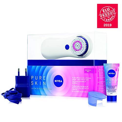 NIVEA Pure Skin Kit Brosse Nettoyante Électrique...