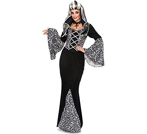 Fyasa 706405-t04Gothic Vampir Frau Kostüm, groß