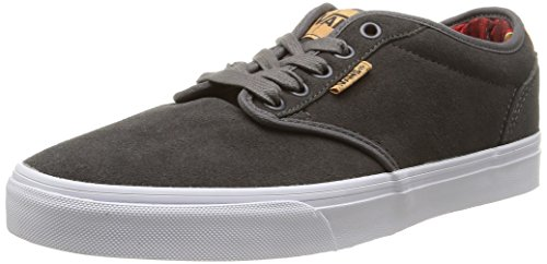 new arrival 44ada 5d4e5 Vans Atwood Deluxe Suede, Baskets Basses Homme Gris (SuedePewterBlanket)