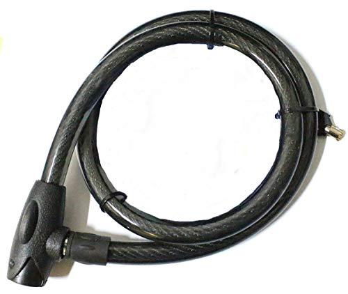 AOLVO Antivol V/élo Cadenas Code Bicyclette Long 120cm X 12mm Cable Bike Lock pour V/élo//E-Bike//Scooter Moto///Équipement de Sport