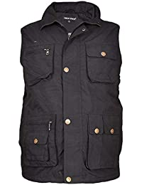 cc7a66e7def Amazon.co.uk: Black - Waistcoats / Suits & Blazers: Clothing