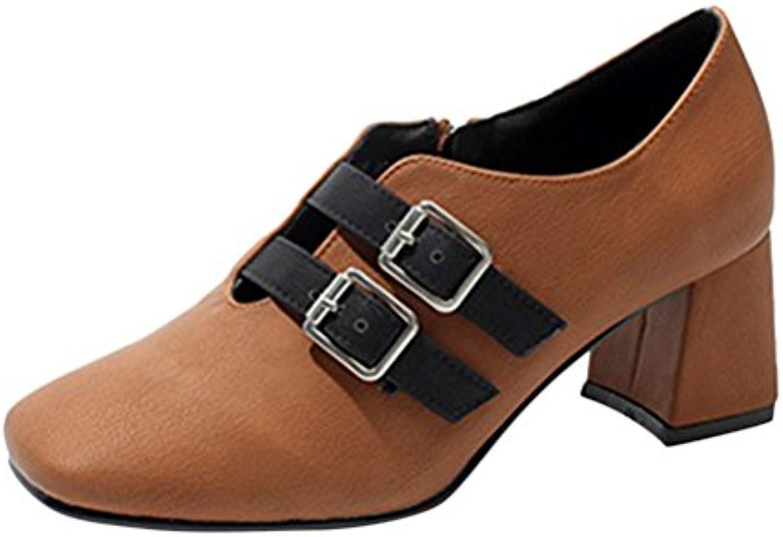 bien des femmes est faible bouche épaisses chaussures à à à talons haut talon pompes b076ltt35b parent fdffc4