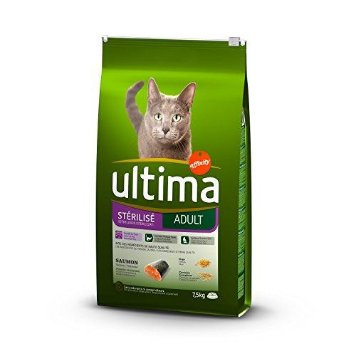 Ultima Cibo per Gatti Sterilizzati Adulti con Salmone - 7.5 kg