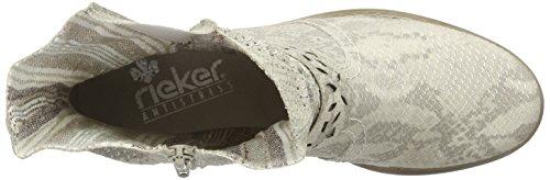 Rieker - Z4165, Stivali Donna Beige (Beige (hay / 64))