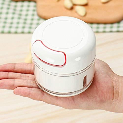 Contiup Hachoir à l'ail Handheld Mini, Hachoir et déchiqueteur...
