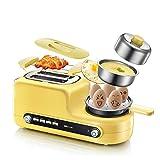 FUHUANGYB Multifunktions-Eierkocher Toaster 1080W Elektrische Bratpfanne Frühstück Maschine Steamer Maschine